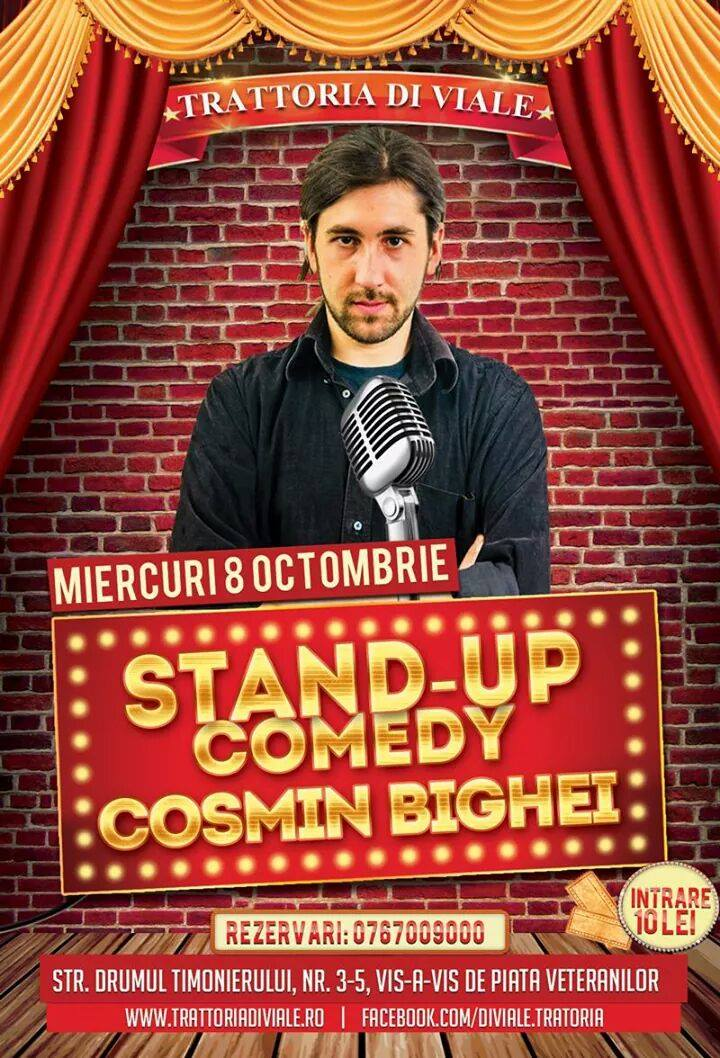 Stand Up Comedy - Cosmin Bighei