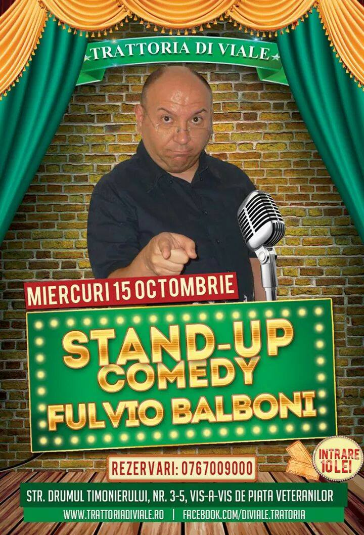 Stand Up Comedy - Fulvio Balboni